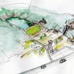 里池の説明図(千葉)奥田堰