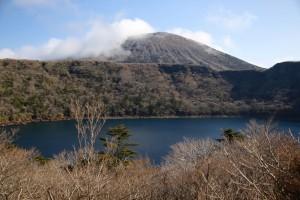 大浪池と韓国岳