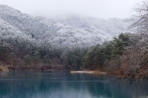岩神貯水池は岩神ダムとも。