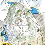 難関ダム攻略図(栃木)